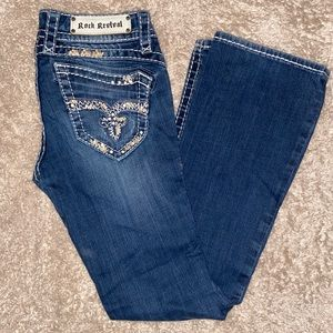 Rock Revival boot cut jeans, GREAT CONDITION!